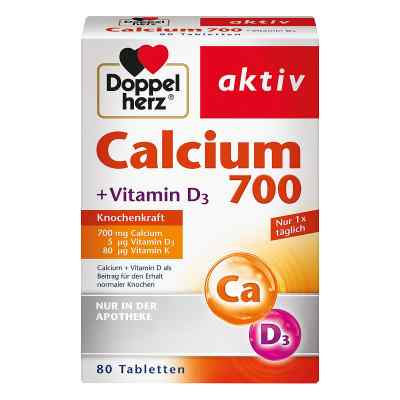 Doppelherz Calcium 700+vitamin D3 Tabletten  bei apotheke.at bestellen