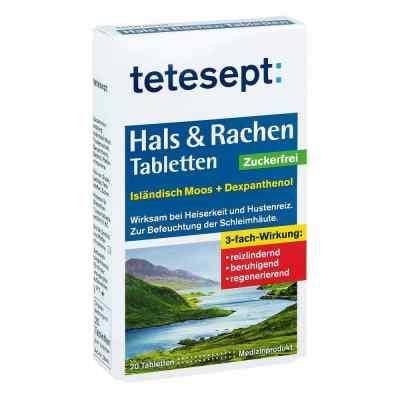 Tetesept Hals & Rachen Tabletten zuckerfrei  bei apotheke.at bestellen