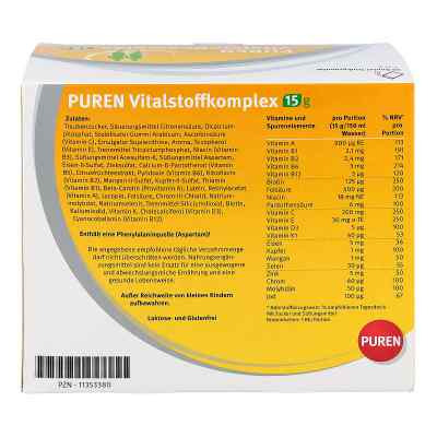 Puren Vitalstoffkomplex Beutel a 15 g Granulat