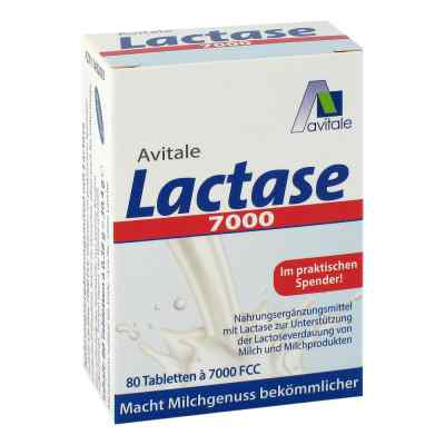 Lactase 7.000 Fcc Tabletten im Spender  bei apotheke.at bestellen