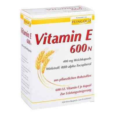 Vitamin E 600 N Weichkapseln