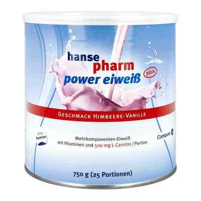 Hansepharm Power Eiweiss plus Himbeere-vanille Plv