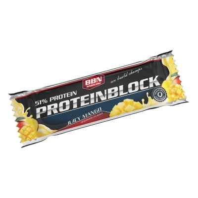 Bbn Hardcore Proteinblock Riegel juicy Mango
