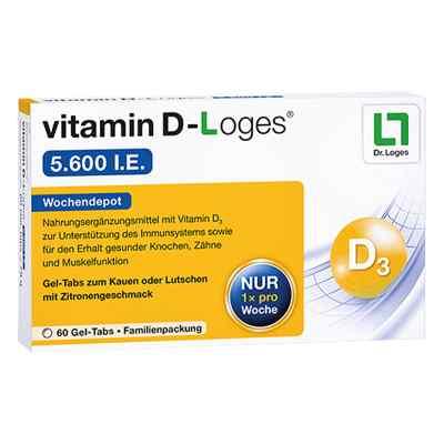 Vitamin D-Loges 5.600 I.e. Kautablette (n) Familienpackung  bei apotheke.at bestellen