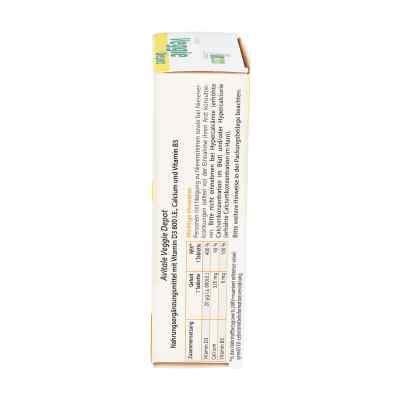 Veggie Depot Vitamin D3 800 I.e.+calcium+b5 Tabletten   bei apotheke.at bestellen