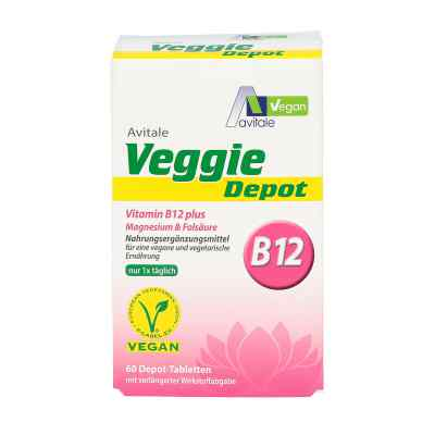 Veggie Depot Vitamin B12+magnesium+folsäure Tabletten