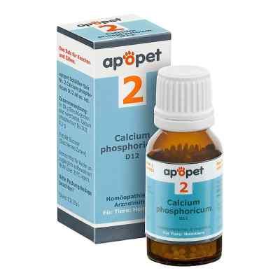 Apopet Schüssler-salz Nummer 2  Calcium phosphoricum D  12 veter  bei apotheke.at bestellen