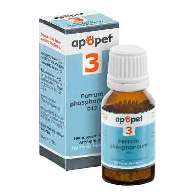 Apopet Schüssler-salz Nummer 3  Ferrum phosphoricum D  12 veteri  bei apotheke.at bestellen