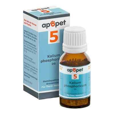 Apopet Schüssler-salz Nummer 5  Kalium phosphoricum D  6 veterin