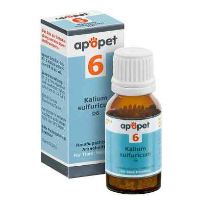 Apopet Schüssler-salz Nummer 6  Kalium sulf.D 6 veterinär   bei apotheke.at bestellen