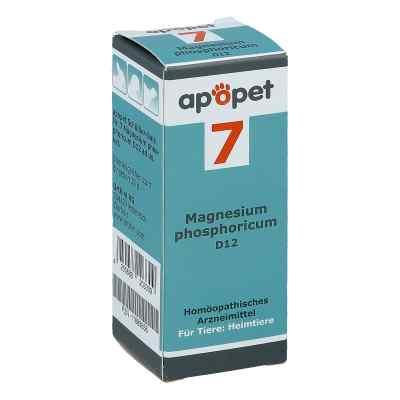 Apopet Schüssler-salz Nummer 7  Magnesium phosphoricum D  12 vet  bei apotheke.at bestellen