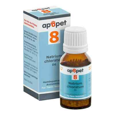 Apopet Schüssler-salz Nummer 8 Natrium chlor.D 6 veterinär  bei apotheke.at bestellen
