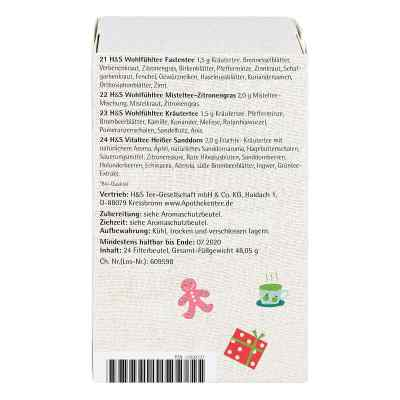 H&s Adventskalender Teezeit Filterbeutel