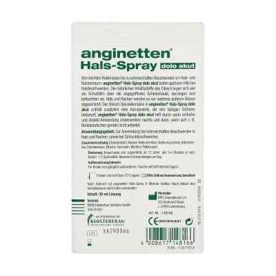 Anginetten Hals-spray dolo akut