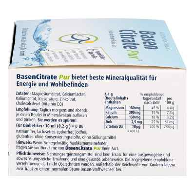 Basen Citrate Pur nach Apotheker Rudolf Keil Beutel