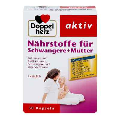 Doppelherz Nährstoffe für Schwangere+mütter Kapsel (n)   bei apotheke.at bestellen