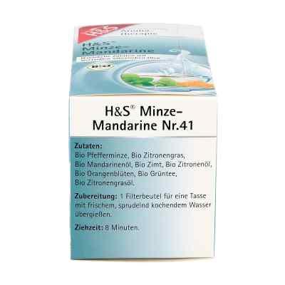 H&s Bio Minze-mandarine Aromatherapie Filterbeutel