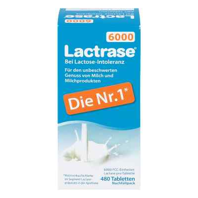 Lactrase 6.000 Fcc Tbl.klickspender Nachfüllpack  bei apotheke.at bestellen