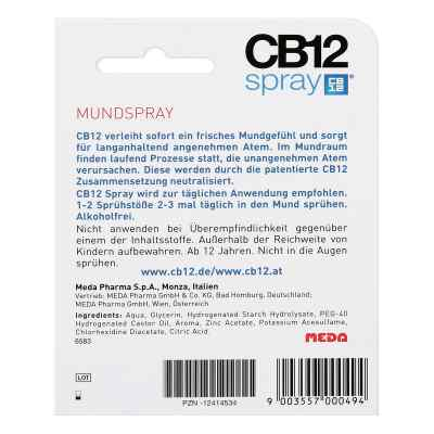 Cb12 Spray  bei apotheke.at bestellen