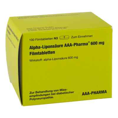 Alpha Liponsäure Aaa Pharma 600 mg Filmtabletten  bei apotheke.at bestellen