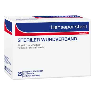 Hansapor steril Wundverband 6x7 cm  bei apotheke.at bestellen