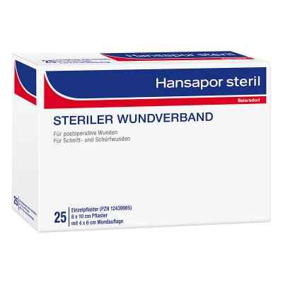 Hansapor steril Wundverband 8x10 cm  bei apotheke.at bestellen