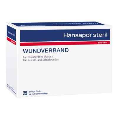 Hansapor steril Wundverband 9x15 cm