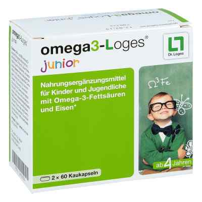 Omega 3-loges junior Kaudragees  bei apotheke.at bestellen