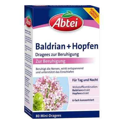 Abtei Baldrian+hopfen Dragees zur Beruhigung  bei apotheke.at bestellen