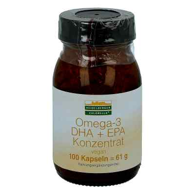 Omega 3 Dha+epa vegan Konzentrat Kapseln  bei apotheke.at bestellen