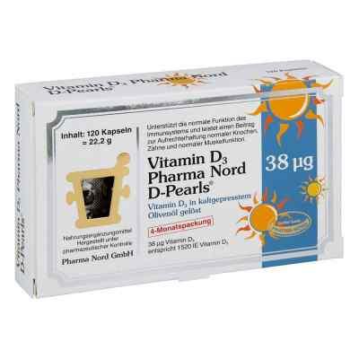 Vitamin D3 Pharma Nord D-pearls Kapseln  bei apotheke.at bestellen