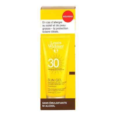 Widmer Sun Gel 30 leicht parfümiert  bei apotheke.at bestellen