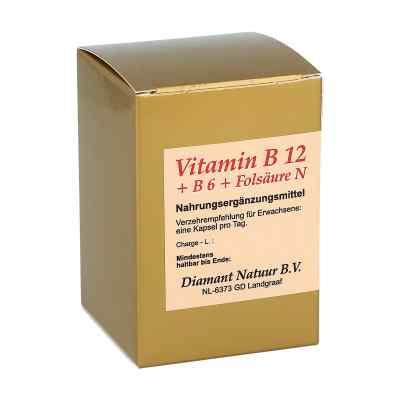 Vitamin B12+b6+folsäure N Kapseln