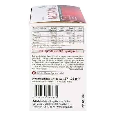 Arginin plus Vitamin B1+b6+b12+folsäure Filmtabletten  bei apotheke.at bestellen