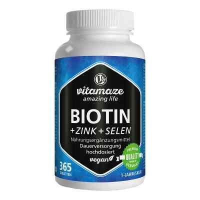 Vitamaze Biotin 10 mg hochdosiert+Zink+Selen  bei apotheke.at bestellen
