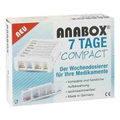 Anabox 7 Tage Compact Wochendosierer weiss  bei apotheke.at bestellen