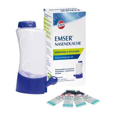 Emser Nasendusche mit 4 Beutel nasenspülsalz