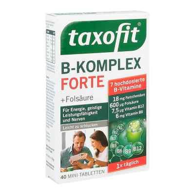 Taxofit B-komplex Tabletten 40 stk von MCM KLOSTERFRAU Vertr. GmbH PZN 12642525