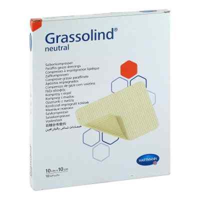 Grassolind Salbenkompressen 10x10 cm steril  bei apotheke.at bestellen