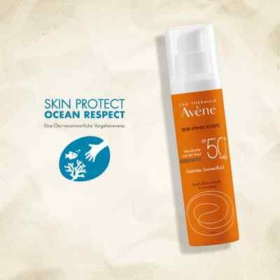 Avene Sunsitive Sonnenfluid Spf 50+ getönt  bei apotheke.at bestellen