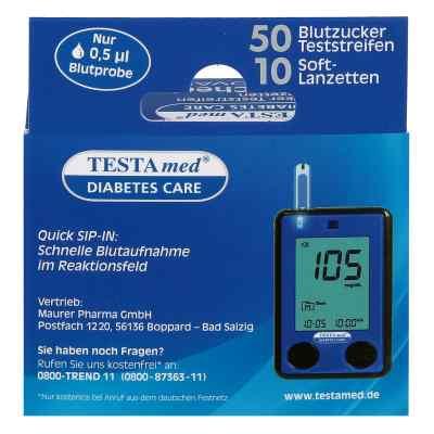 Testamed Glucocheck Advance Teststreif.m.10 Lanz.  bei apotheke.at bestellen