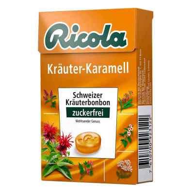 Ricola ohne Zucker  Box Kräuter-karamell Bonbons  bei apotheke.at bestellen