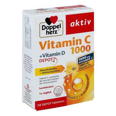 Doppelherz aktiv Vitamin C 1000+vitamin D Depot  bei apotheke.at bestellen