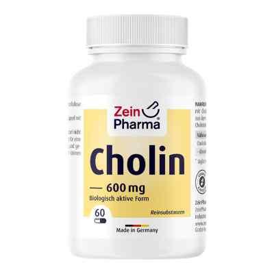 Cholin 600 mg rein aus Bitartrat veg.Kapseln  bei apotheke.at bestellen