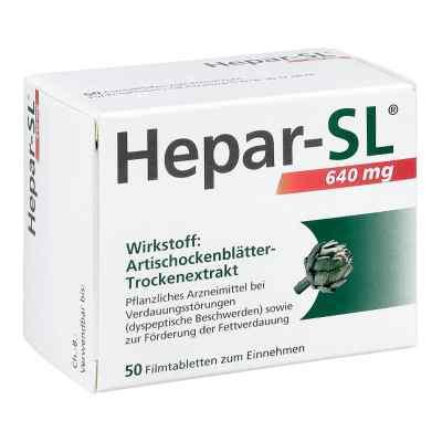 Hepar-sl 640 mg Filmtabletten  bei apotheke.at bestellen
