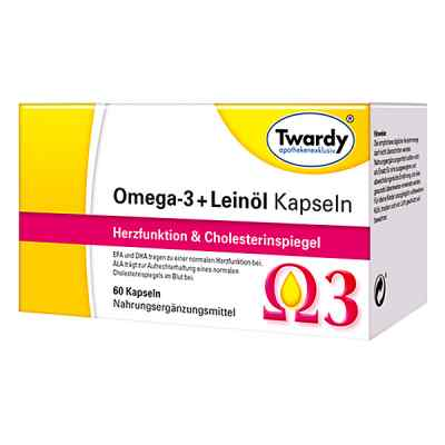 Omega-3+leinöl Kapseln  bei apotheke.at bestellen