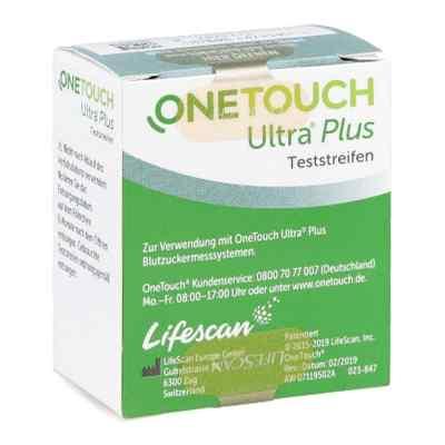 One Touch Ultra Plus Teststreifen  bei apotheke.at bestellen
