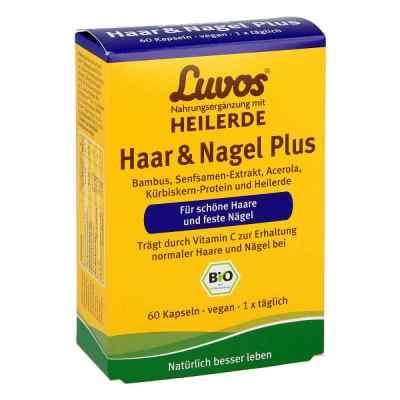 Luvos Heilerde Bio Haar & Nagel Plus Kapseln  bei apotheke.at bestellen