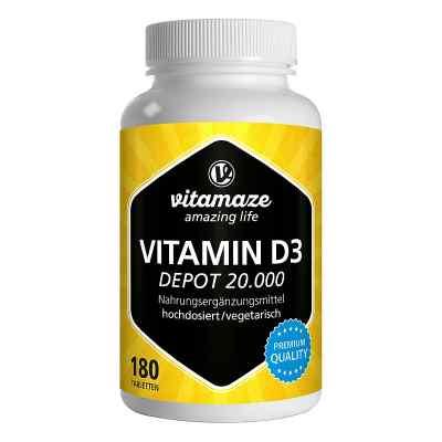 Vitamaze VITAMIN D3 20.000 internationale Einheiten Depot hochdo  bei apotheke.at bestellen