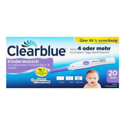 Clearblue Ovulationstest fortschrittlich & digital  bei apotheke.at bestellen